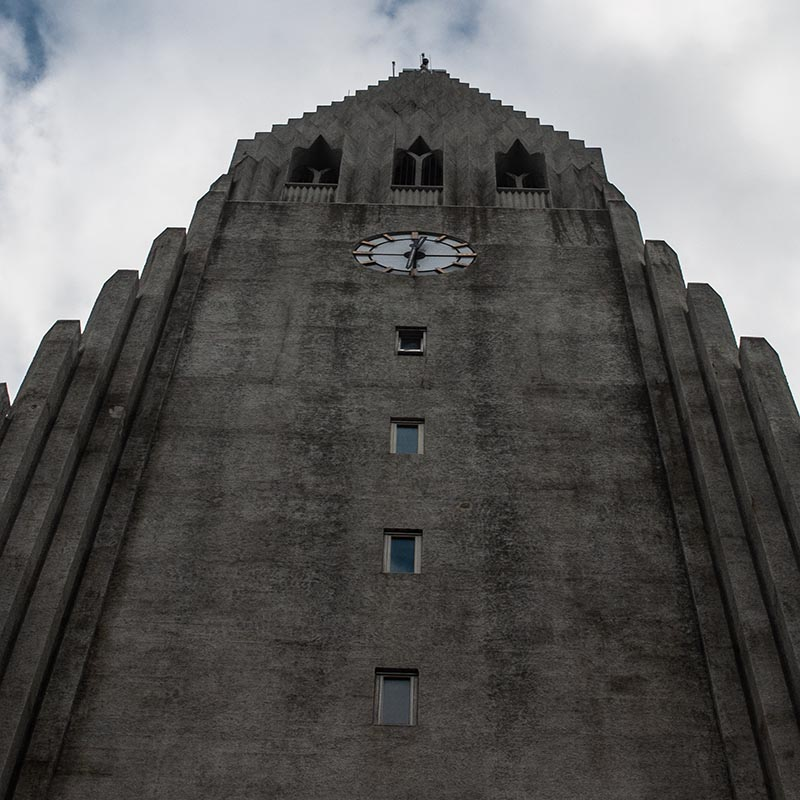 Travel photography, Hallgrimskirkja, Iceland