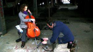 Recording Sheila Hershey in the Huber Breaker